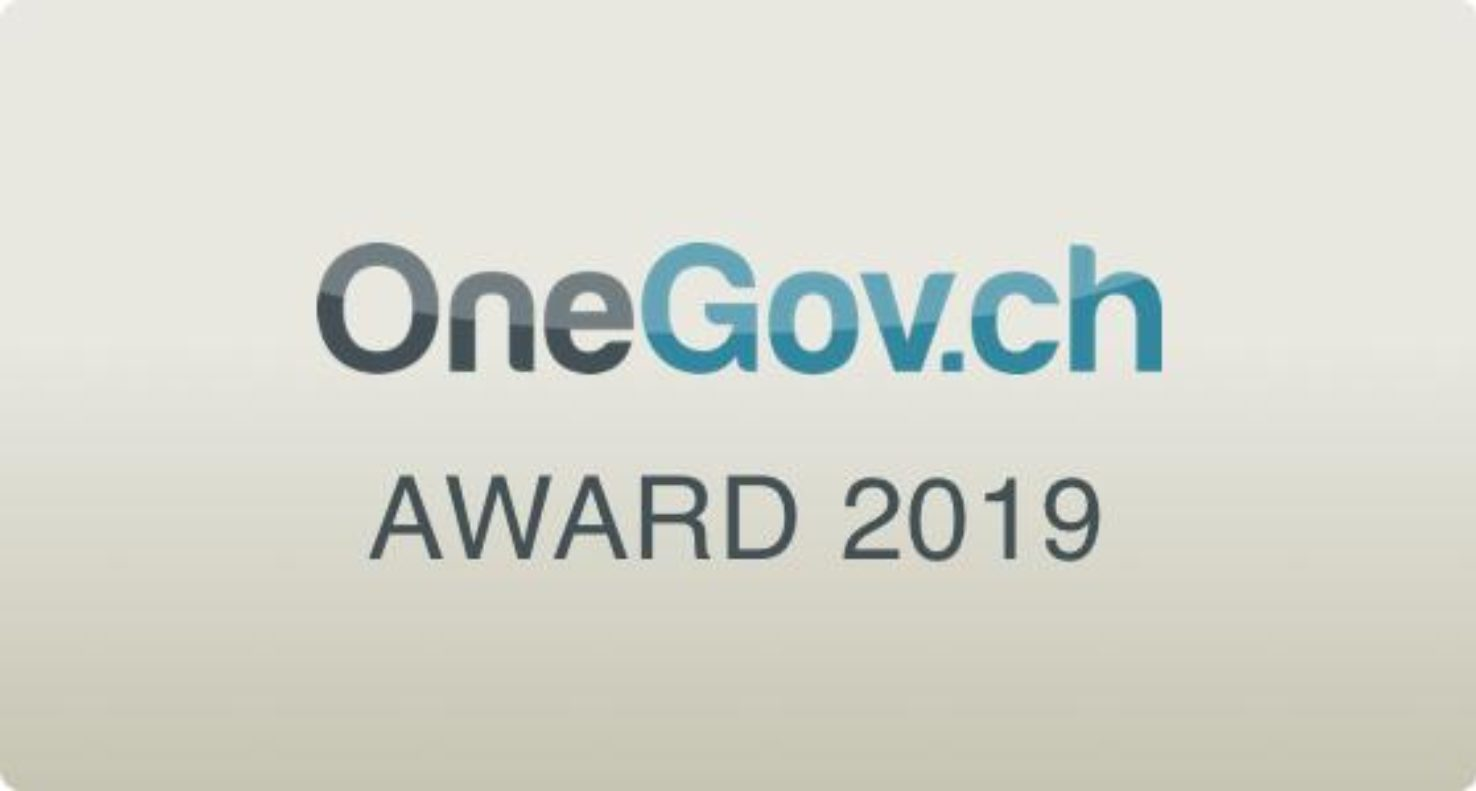 OneGov.ch Award 2019